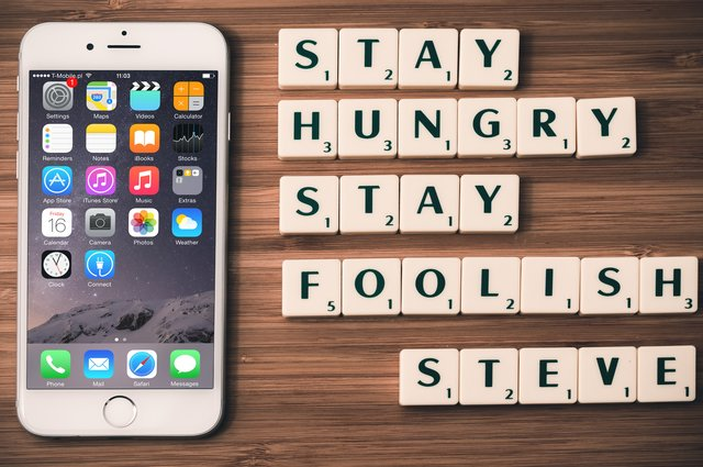 Stay Hungry; Stay Foolish