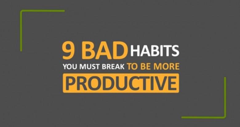 Bad Productivity Habits