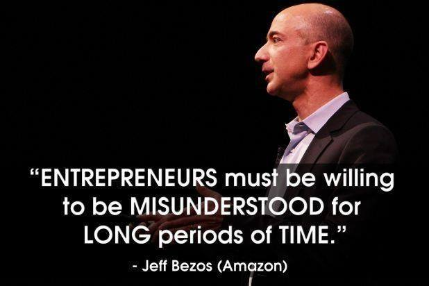 jeff bezos quotes entrepreneurs should live by startup mindset